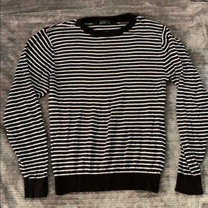 American Apparel striped men's sweater